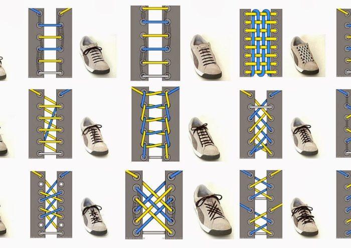 Шнуруем кроссовки