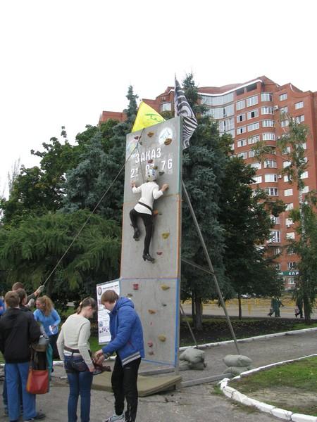 Скалодром на День города в Пензе